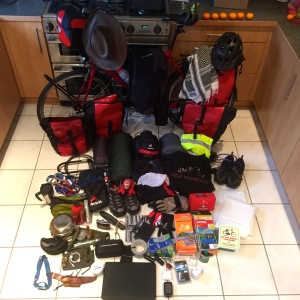 Nordkapp to Tarifa kit
