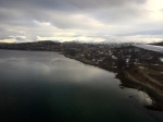 Flying into Tromso