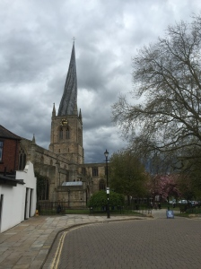 Chesterfield - twisted spire