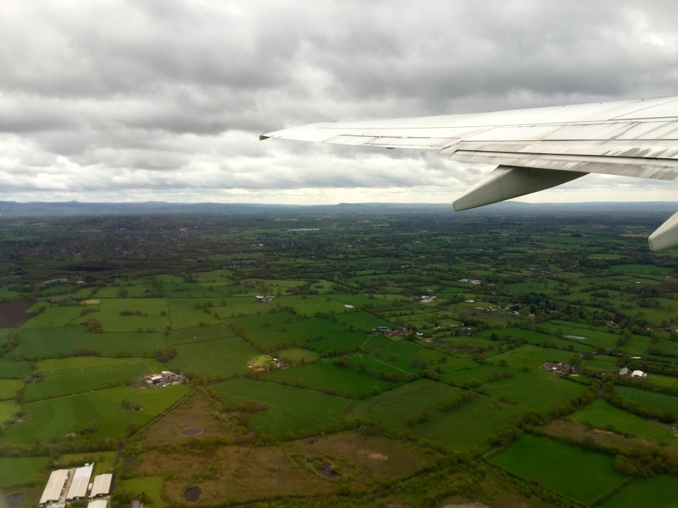 Goodbye the UK, a green and pleasant land, see you in six months