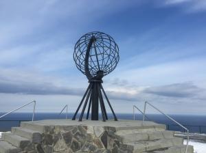 Nordkapp monument 1