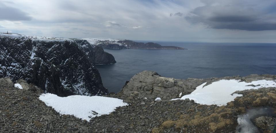 Nordkapp - view West