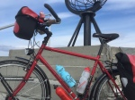 Nordkapp - Cycle Tour Fest bottle, and a travelling lobster