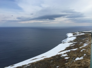 Nordkapp - view East