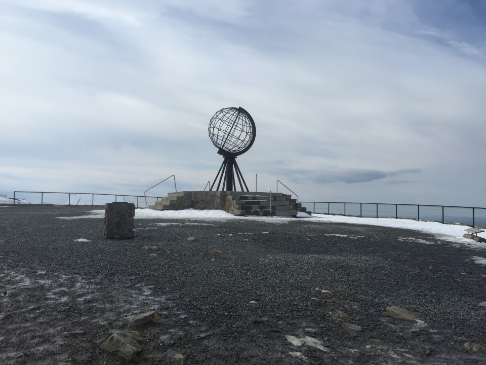 Nordkapp monument again - are you bored yet?