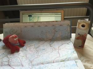 Lobster helping with route planning