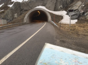 Honningsvag tunnel entrance