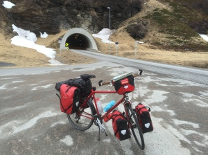 Nordkapp tunnel - phew made it out