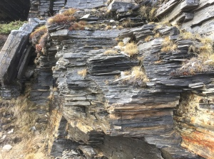 Rock strata - is this metamorphic rock?