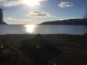 Oldefjord - nice view to wake up to