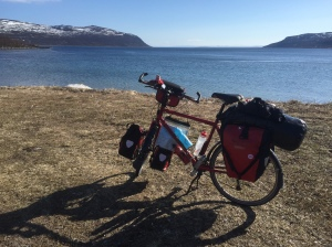 Packed and ready to pedal to Lakselv 2