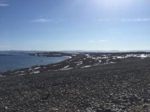 Coastline alongside E09