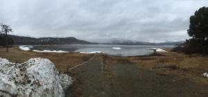 Cloudy and raining in Skoganvarre