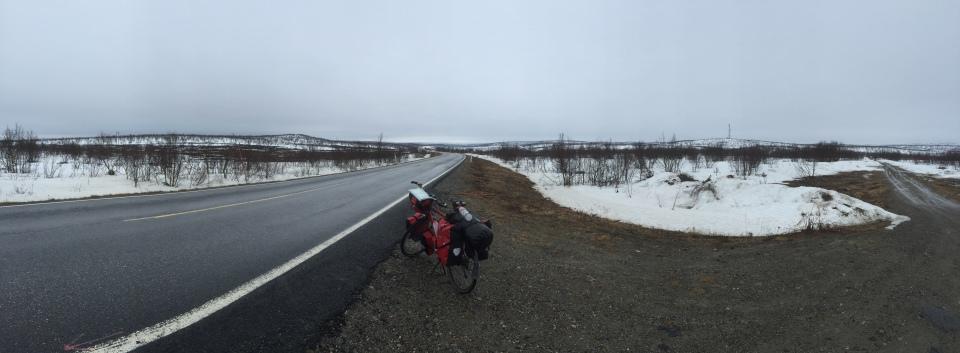 Tundra panorama