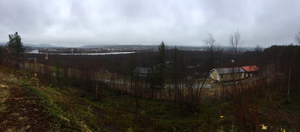 Karasjok - looking towards Finland