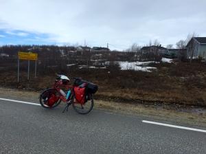 70km to Kautokeino