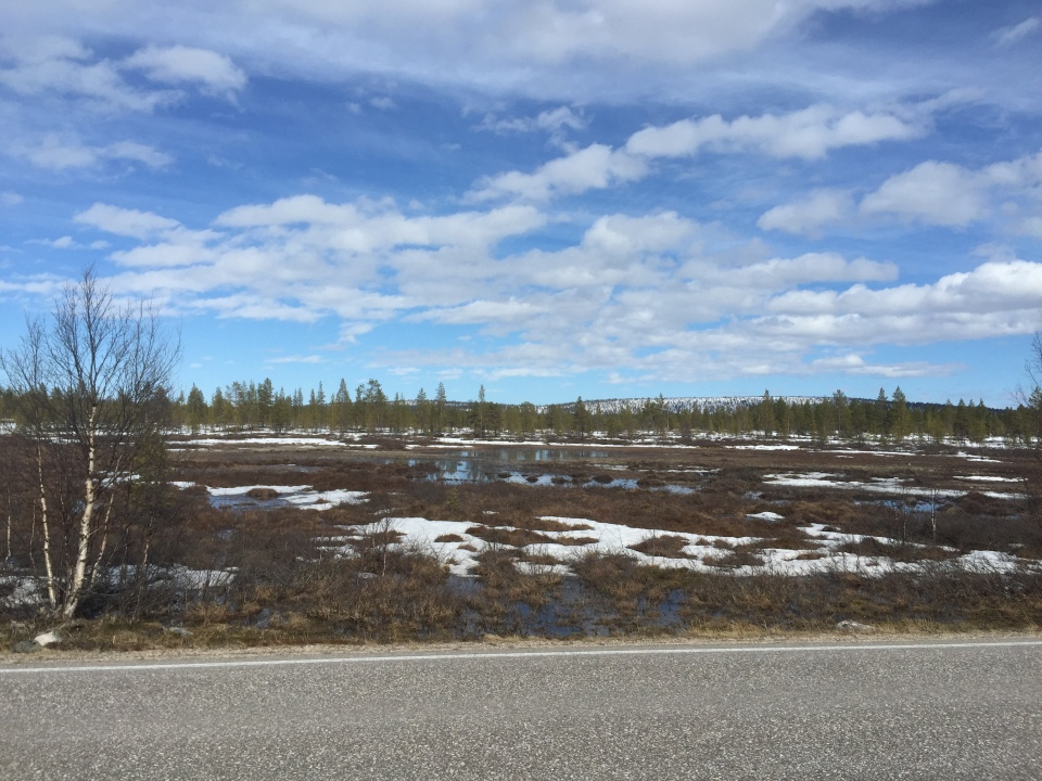 Pedalling through Finland