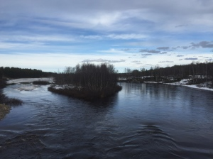 Island in the river, Finland