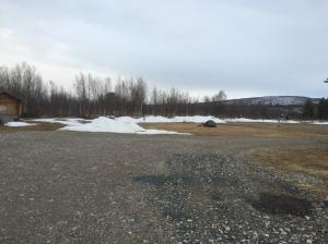 Deserted campsite in Karaesuando