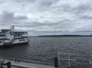 Pausing in Lulea to take in the Baltic