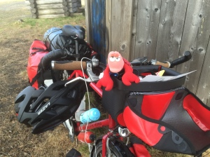 Lulea - packed and ready to pedal