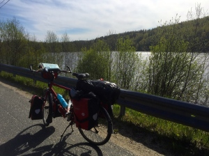 Break by a lake, more Haribo power required for hills