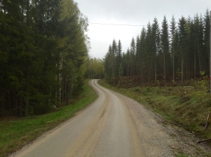 Taking the back roads to Harnosand