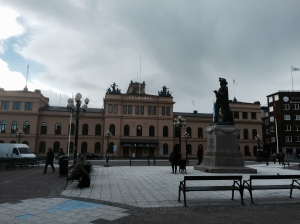 Sundsvall, a big town and port on the Gulf of Bothnia