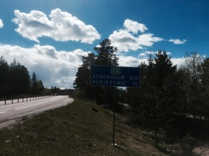 310km to Stockholm