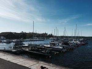 Hudiksvall harbour