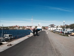 Hudiksvall waterfront