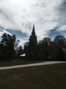 Random church near Soderhamn