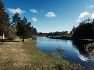 Alvkarleby Fiskecamp - nice riverside spot to camp
