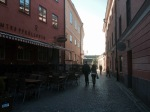 Narrow streets of the old town - Uppsala