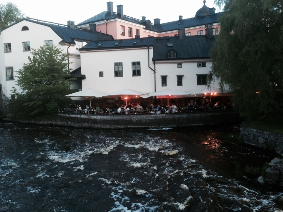 Uppsala - a Greek restaurant down by the river