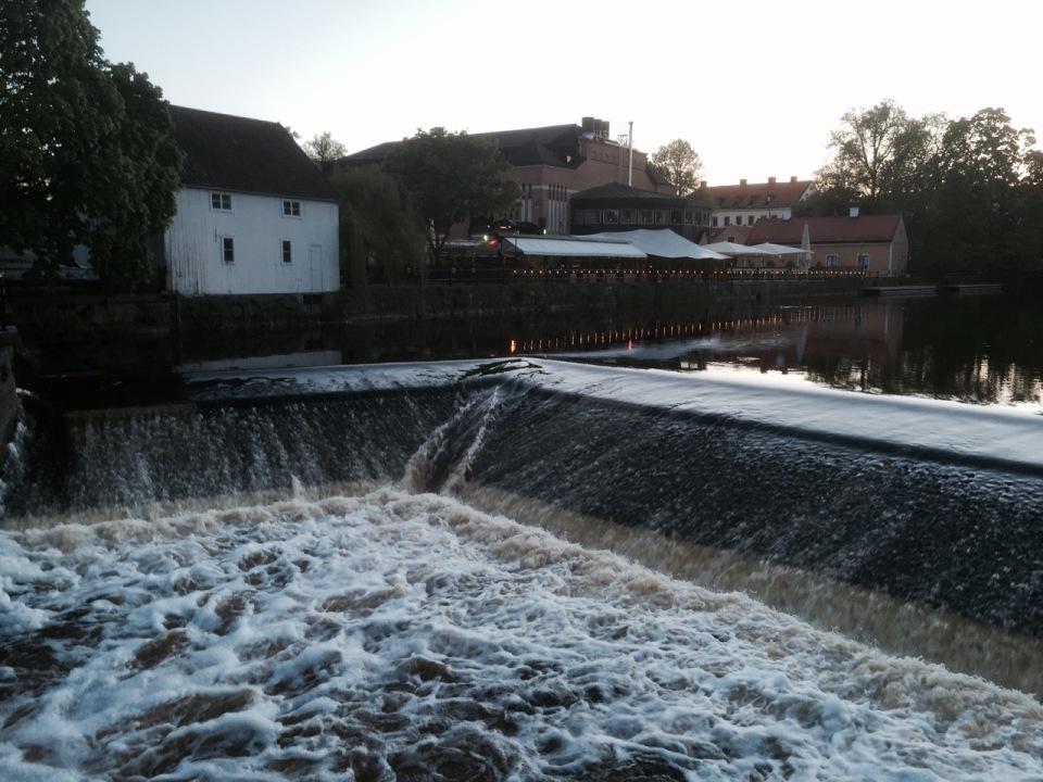 Uppsala - weir
