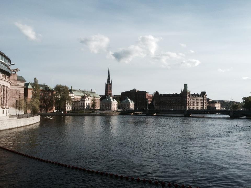 Getting my bearings in Stockholm