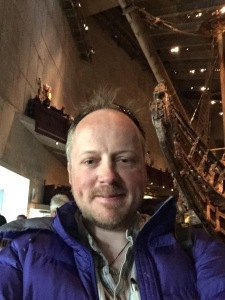 Me at the Vasamuseet