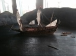 Representation of Vasa sinking
