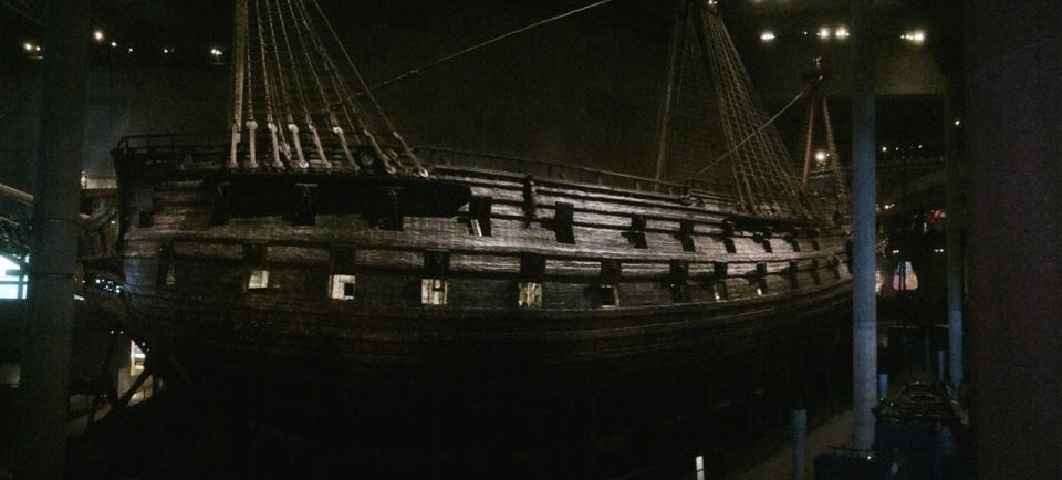 The Vasa - panorama
