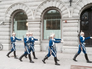 Swedish Guard on the march 2
