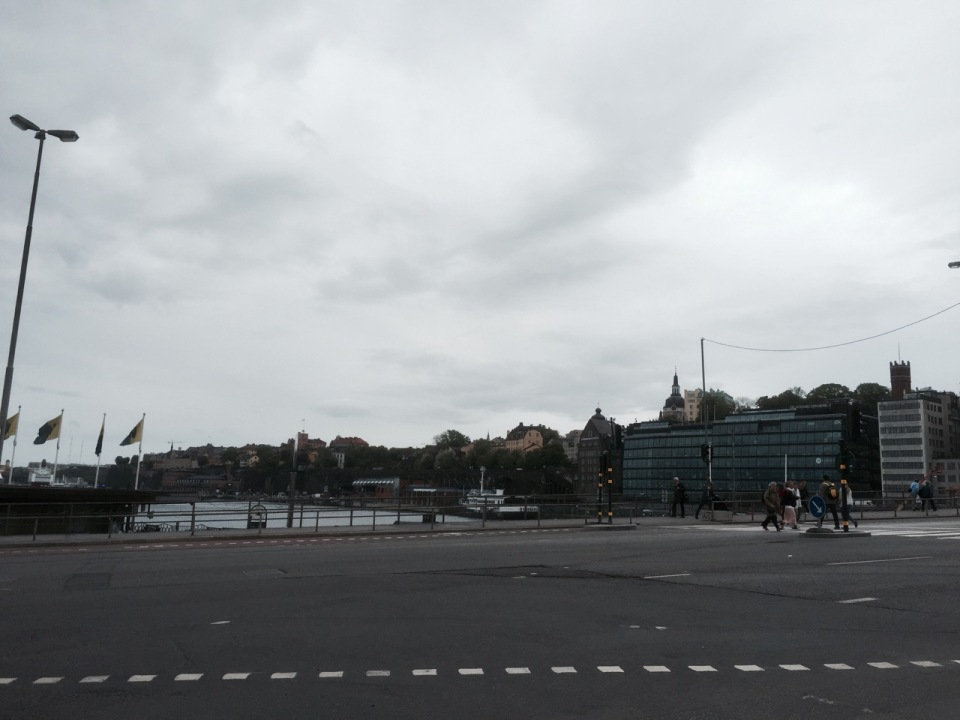 Other end of Gamla Stan; Stockholm continues