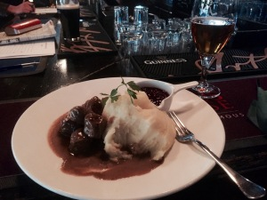 The Dubliner - Swedish meatballs