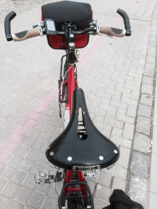 Another view of new saddle