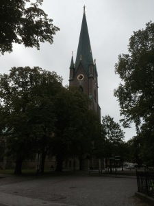Big church in Linkoping