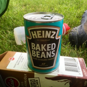 Particularly excited about baked bean find in supermarket