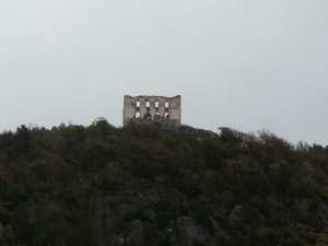 Strange building on hill near Granna