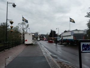 Varnamo - setting up for a carnival?