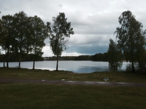 Markaryd Lake - still a bit cold for a dip if you ask me