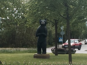 Closest I'm going to get to a bear in Sweden